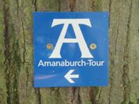 Markierung Amanaburch-Tour