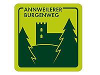 Markierung Annweilerer Burgenweg