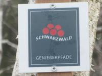 Markierung Auerhahnweg