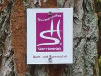 Markierung Bach- und Burrenpfad
