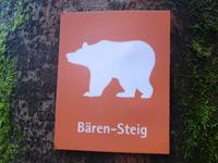 Markierung Bären-Steig