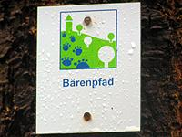 Markierung Bärenpfad