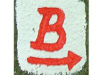 Markierung Basaltweg
