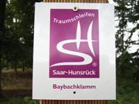 Markierung Baybachklamm