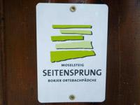Markierung Borjer Ortsbachpädche