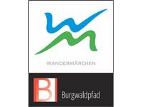 Markierung Burgwaldpfad