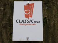 Markierung ClassicTour Rheingrafenstein