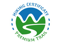 hiking certificate premium trail