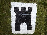Markierung Deutsch-Französischer-Burgenweg