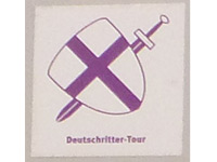 Markierung Deutschritter-Tour