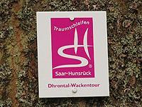 Markierung Dhrontal-Wackentour