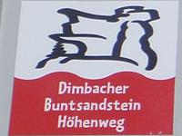 Markierung Dimbacher Buntsandstein Höhenweg