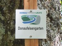 Markierung Donaufelsengarten