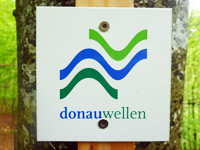 Markierung Donauversinkung