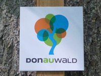 Markierung DonAUwald