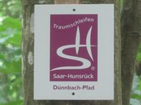 Markierung Dünnbach-Pfad
