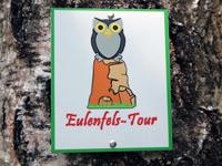 Markierung Eulenfels-Tour