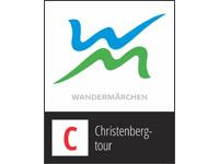 Markierung Christenbergtour