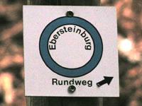 Markierung Extratour Ebersteinburg-Rundweg