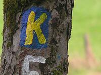 Markierung Klippenpfad
