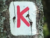 Markierung Kreuzbergtour