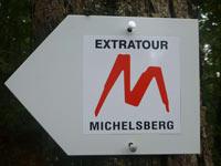 Markierung Extratour Michelsberg