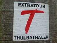 Markierung Extratour Thulbataler