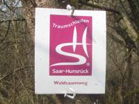 Markierung Waldsaumweg