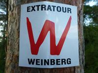 Markierung Extratour Weinberg