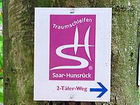 Markierung Zwei-Täler-Weg