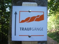 Markierung Felsenmeersteig