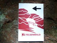 Markierung Felsenwald