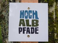 Markierung Felsquellweg Oberdigisheim