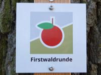 Markierung Firstwaldrunde