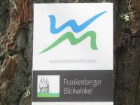 Markierung Frankenberger Blickwinkel