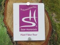 Markierung Fünf-Täler-Tour