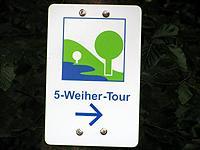 Markierung 5-Weiher-Tour