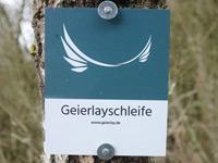 Markierung Geierlayschleife