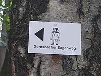 Markierung Gernsbacher Sagenweg