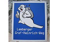 Markierung Graf-Heinrich-Weg