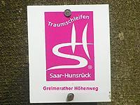 Markierung Greimerather Höhenweg