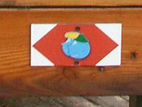 Markierung Grenzgängerweg