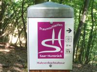 Markierung Hahnenbachtal-Tour