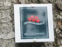 Markierung Harmersbacher Vesperweg