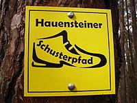 Markierung Hauensteiner Schusterpfad