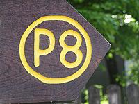 Markierung Heiligenberg P8