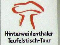 Markierung Hinterweidenthaler Teufelstisch-Tour