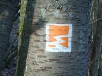 Markierung Hochbermeler