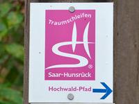 Markierung Hochwald-Pfad