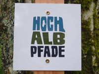 Markierung Hossinger Hochalb